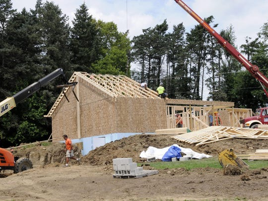 The two-bedroom, 1,200-square-foot home will have a storm cellar, an amenity the McCubbins never have had in their mobile home up the road.