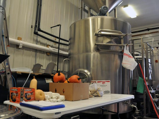 The Catawba Island Brewing Company started production of its pumpkin ale this week.