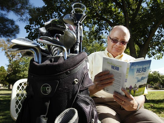 "Joe S. Bullock, set his first novel, ""Walking with Herb,"" in familiar Las Cruces territory. The book mixes golf, God, humor and inspiration."