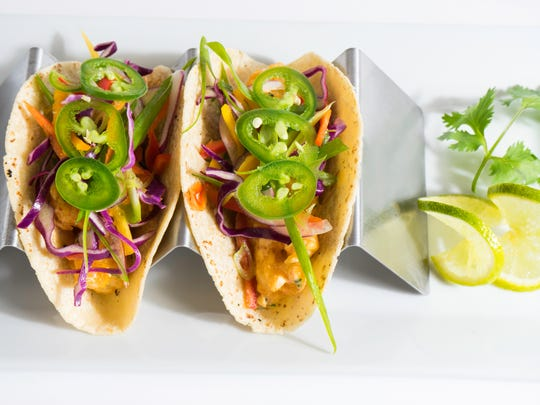 Rock shrimp tacos are on the menu at Timeless – An MHK Eatery, targeted to open March 1 at 90 Ninth St. N. on the corner of First Avenue North in Naples.