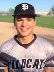 Plymouth pitcher Kai St. Germaine got the victory in