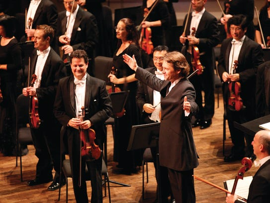 Music Director Andrey Boreyko and the Naples Philharmonic