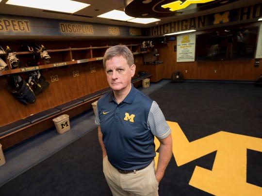 Former Michigan AD Dave Brandon told Mel Pearson he