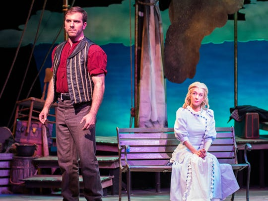 Michael O'Brien and Jeannie Shubitz in Arizona Broadway