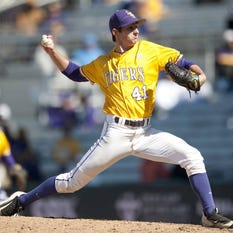 """LSU's Alex Lange: """"Our best baseball is in front of us"""""""