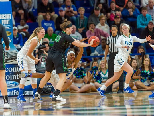 FGCU's defense -- the main concern thus far -- looked much improved in last Saturday's 80-40 ASUN-opening home romp against archrival Stetson.