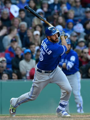 Chris Colabello became at least the fourth major or minor leaguer since September to test positive for an outdated steroid.