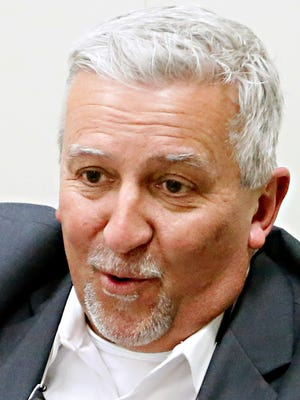 Senator Mike Folmer speaks with the York Dispatch Editorial Board at the office in West Manchester Township, Tuesday, Dec. 13, 2016. Dawn J. Sagert photo