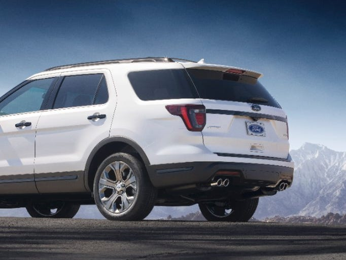 Ford announces Explorer updates for 2018.