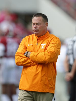 Butch Jones will serve in an analyst role for Alabama.