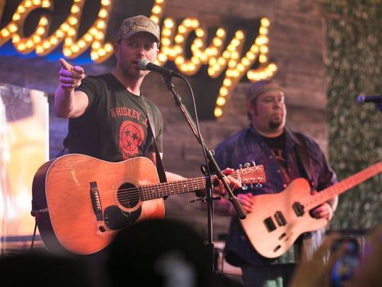 Country musician Dierks Bentley performs at Dierks