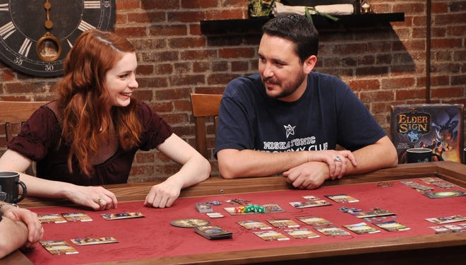 """Felicia Day and Wil Wheaton played """"Elder Sign"""" on Wheaton's """"TableTop"""" YouTube show, and the geek icons host an event on International TableTop Day in April."""