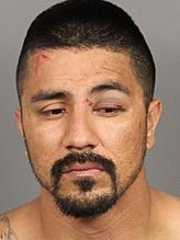 Rolando Galvan was arrested on suspicion of driving under the influence Sunday morning after crashing into a Coachella home.