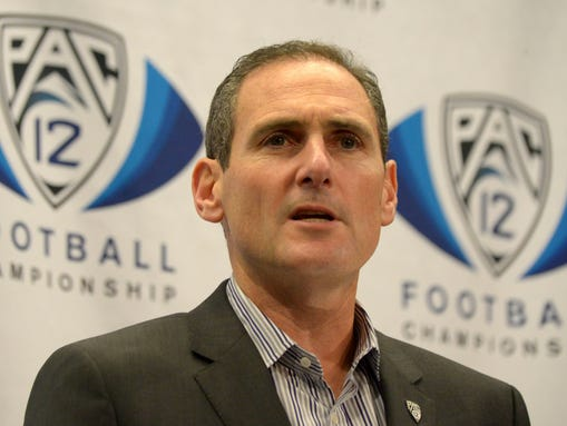 Pac-12 Conference commissioner Larry Scott said that