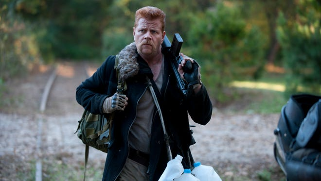 Michael Cudlitz gears up for the Season 4 finale of 'The Walking Dead.'
