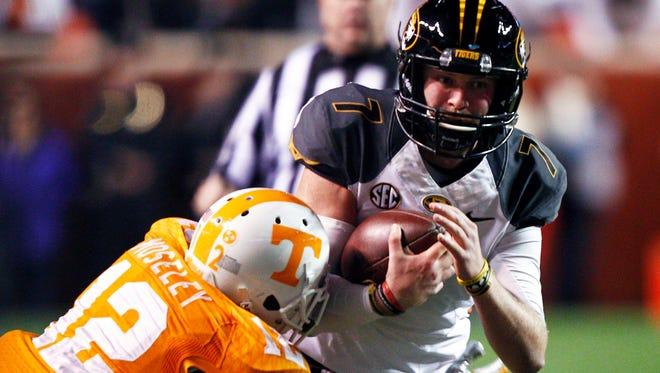 Missouri quarterback Maty Mauk (7) and the Tigers will host MTSU next season.