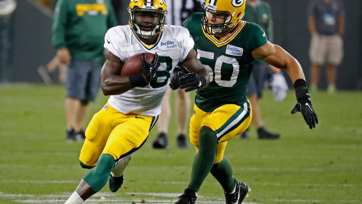 Young running backs getting up to speed in Packers camp