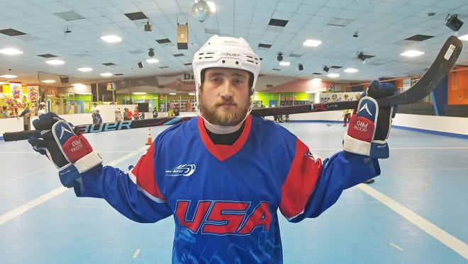 Washington Township native Ryan Marker will play for Team USA in the Inline World Hockey Championships in Italy through the end of July.