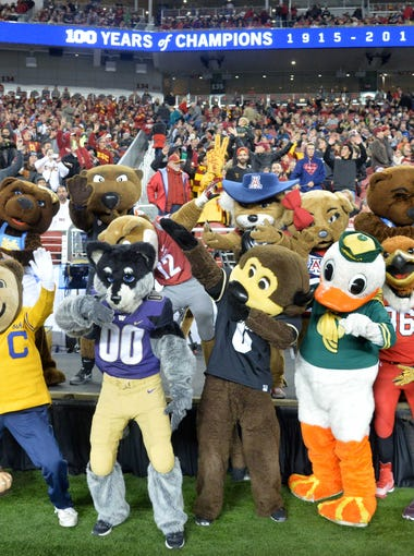 Here's how azcentral sports' Doug Haller sees the two divisions of the Pac-12 conference playing out in the upcoming season.