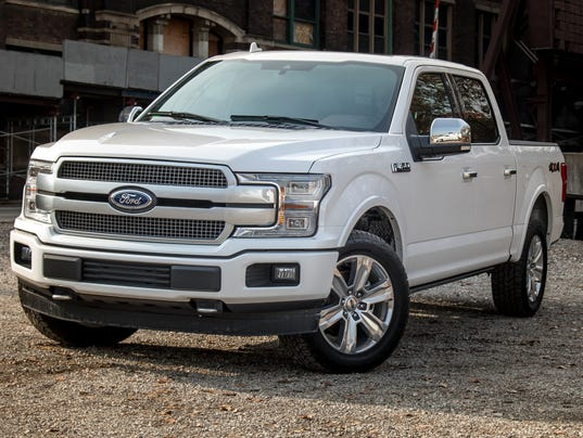 review: ford's plush f-150 platinum gets a v-8 update