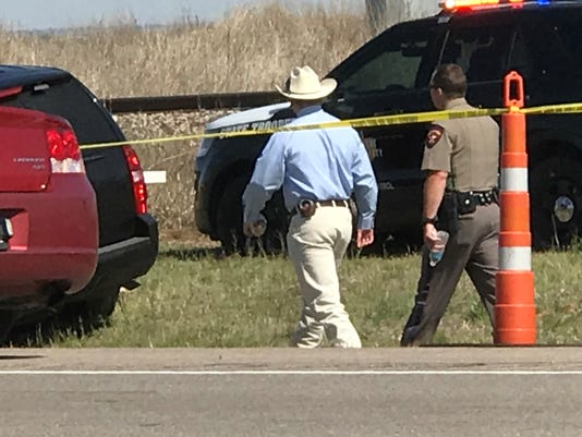 North Texas chase ends with officer-involved shooting