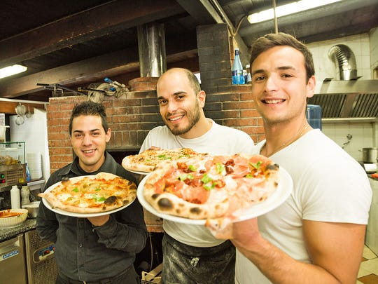 Sicily's pizza, cooked in traditional wood-burning