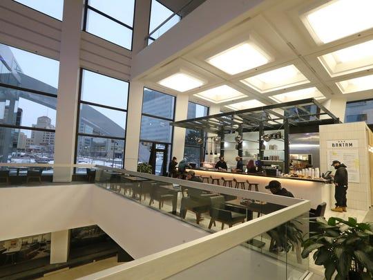 The newly opened Bar Bantam inside Metropolitan (formerly