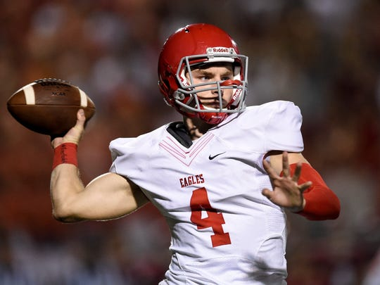 Brentwood Academy quarterback Jeremiah Oatsvall will sign with Austin Peay on Wednesday.