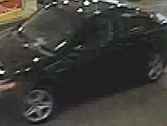 This black four-door vehicle was used in a Saturday