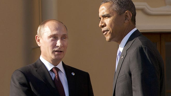 President Obama and President Vladimir Putin of Russia.
