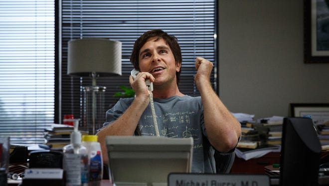 "Christian Bale in  ""The Big Short."" Bale was nomina"