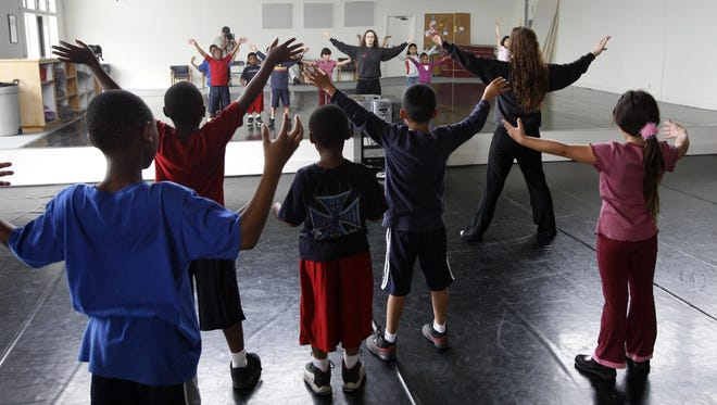 Programs in the arts in Monterey County are varied, such as this dance workshop at SpectorDance in Marina.