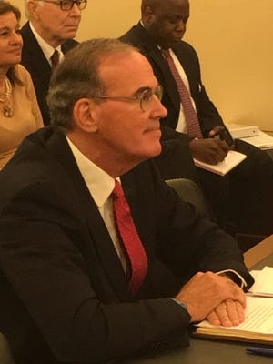 Michael Missal, inspector general nominee at the Department of Veterans Affairs, answers questions at a Senate Veterans' Affairs Committee hearing on Nov. 17, 2015.