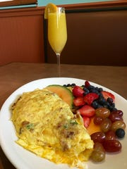 The House Omelet is one of some 50 varieties available at House of Omelets which has two locations in Cape Coral.
