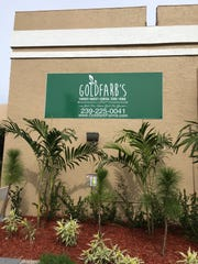 Signs for Goldfarb's Farmers Market and General Store are up at Royal Palm Square in Fort Myers.