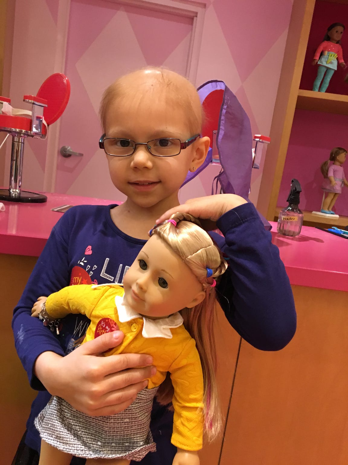 Rhyan Loos has undergone five cycles of chemotherapy to help shrink a tumor on her kidney. #RallyforRhyan, a movement to raise awareness and funds for pediatric cancer research, has garnered national attention.