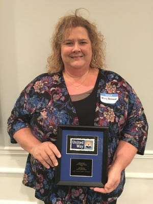 United Way of Ross County presented Adena Health System's Missy Brenner with its first-ever individual Live United award Tuesday.