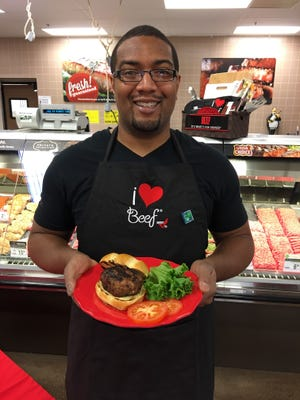 Maurice Williams won the 5th annual Derby Burger Challenge