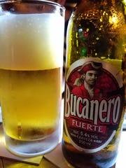Bucanero, a popular cuban lager.