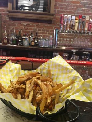 Parmesan truffle fries at Old Louisville Tavern.