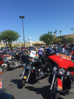 Run for the Wall brings together hundreds of bikers every year.