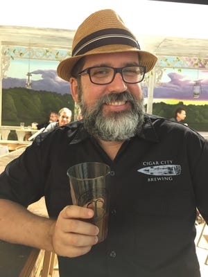 Manny Roque, a homebrewer from Bonita Springs, won gold at last weekend's National Homebrew Competition.