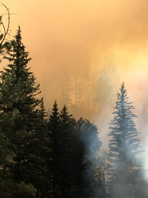 Fuller Fire grew to more than 11,000 acres overnight.