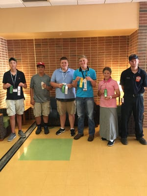 Franklin County participants at recent 4-H State Days included, left to right, Alec Urban, Bobby Miller, Bryce Summers, Wyatt Craig, Shirit Bowman, Tyler Helman.
