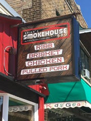 Brian's Smokehouse and BBQ is at 1424 Washington St., Manitowoc. Hours are 11 a.m.-7 p.m., Thursday-Saturday, and 11 a.m.-6 p.m., Sunday. Prices range from $6 to $23.