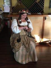 Abby Armstrong portrays her Pennsylvania Renaissance