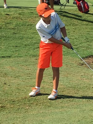Naples' Braden Miller competes in the Drive, Chip and Putt Regional at TPC Sawgrass in Ponte Vedra Beach on Saturday, Sept. 10, 2016. Miller won his division to advance to the 2017 Finals at Augusta National Golf Club in Augusta, Georgia.