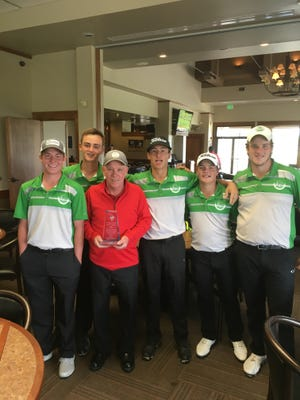 The Fossil Ridge boys golf team won the Tay Invitational on Monday in Westminster.