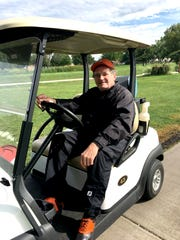 Ken Martens poses for a photo at the 2016 city golf meet.