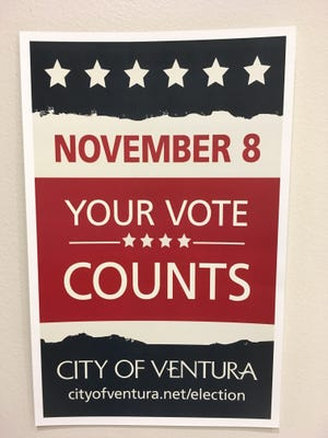 Voters in Ventura will decide whether to increase the sales tax by half a cent.
